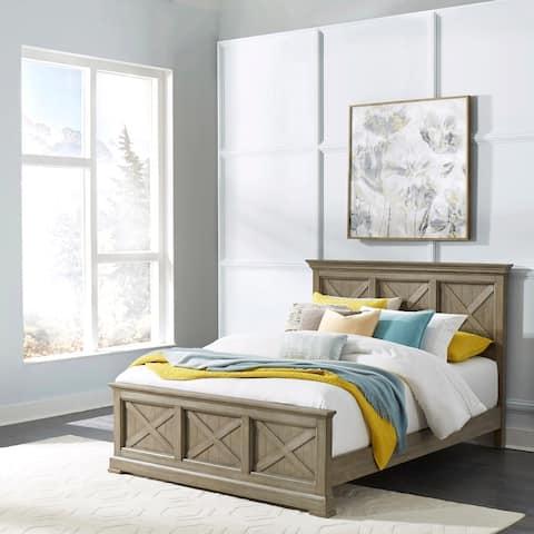 Mountain Lodge Queen Bed; Night stand; Dresser & Mirror