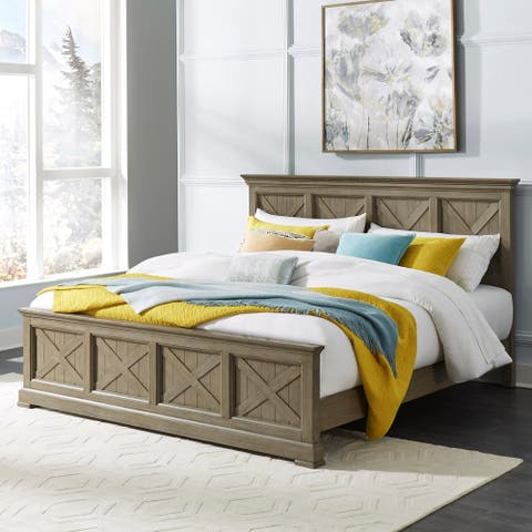 Mountain Lodge King Bed; Night stand; Dresser & Mirror