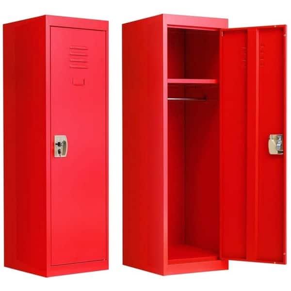 Shop Superday Kid Locker Safe Storage Children Single Tier Metal Lockers On Sale Overstock 29755679