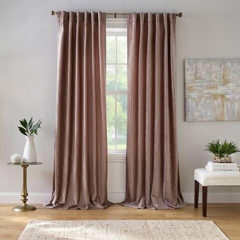 Carnaby Distressed Velvet Window Curtain