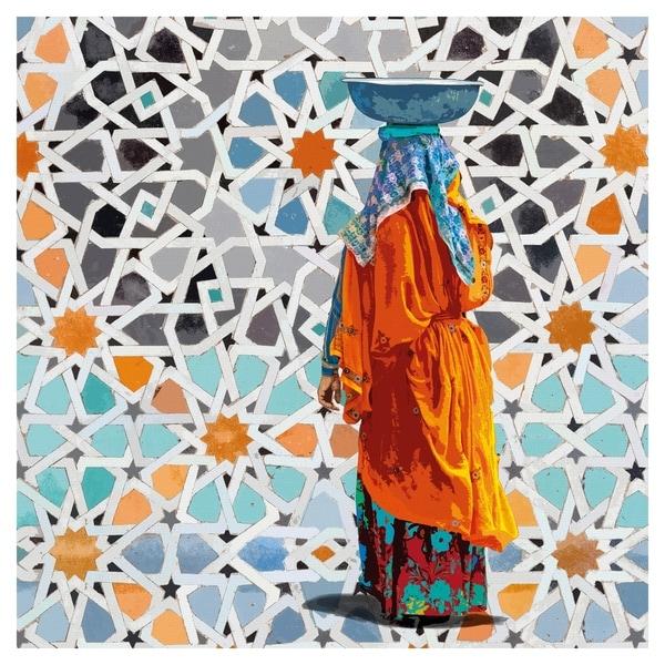 A Balanced Walk by Mark Chandon Canvas Art Print