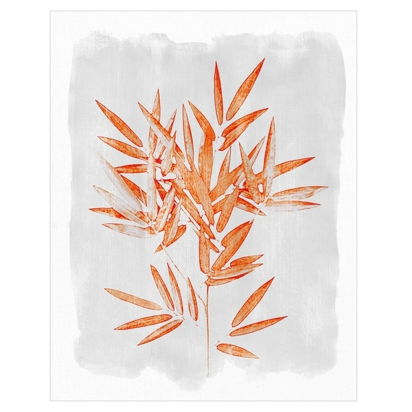 Bamboo Harmony by Belle Poesia Canvas Art Print