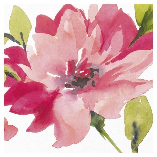 Crimson Flower II by Sandra Jacobs Canvas Art Print