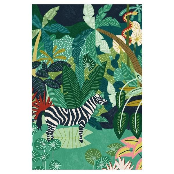 Tropical Equus by Kristine Hegre Canvas Art Print
