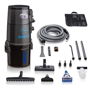 Prolux Professional Shop Grey Wall Mounted Garage Vacuum Wet Dry