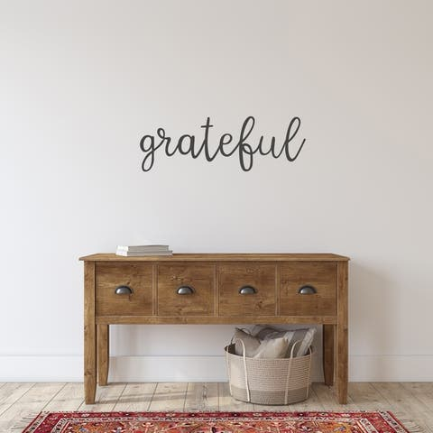 Grateful Wall Decal