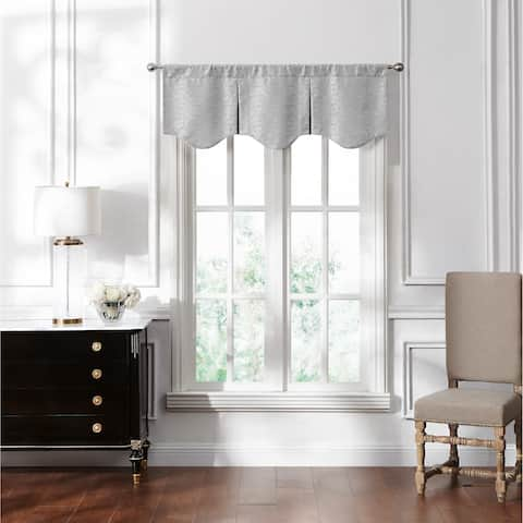 Waterford Lace Pleated Valance