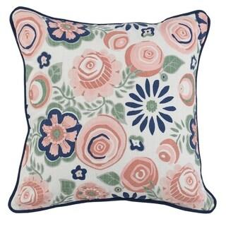 Kosas Home Clarissa Cotton 18-inch Throw Pillow