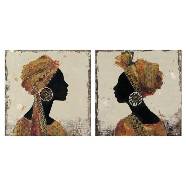 Sadwana I & II by Dupre Set of Canvas Art Prints