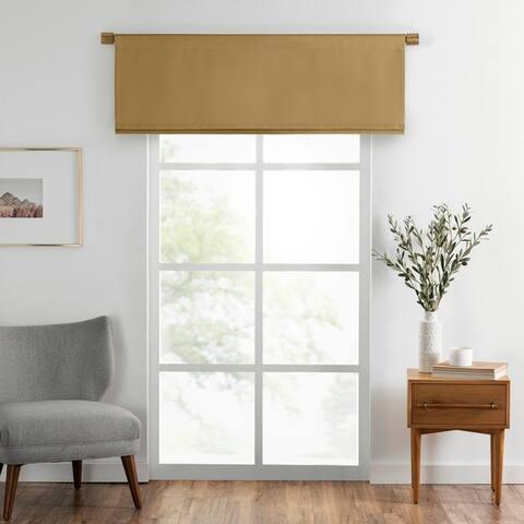 SunVeil Vanderbilt Straight Pleated Window Valance