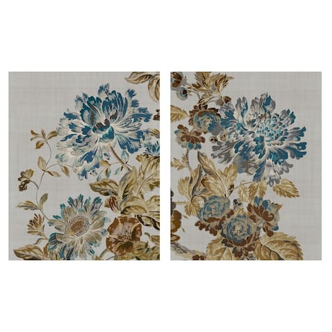 Floral Lines I & II by Tania Bello Set of 2