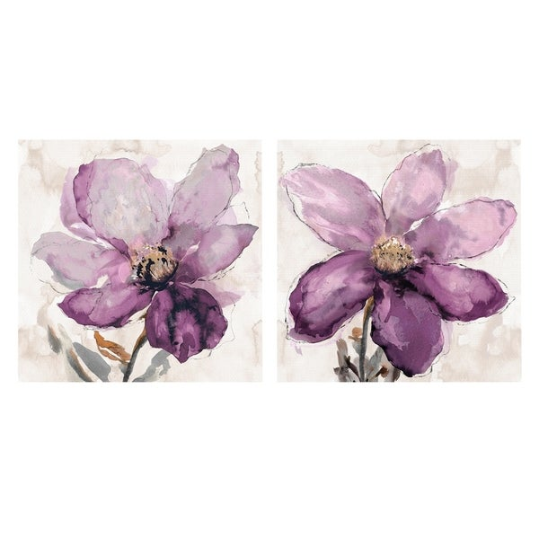 Floral Wash I & II by Tania Bello Set of 2
