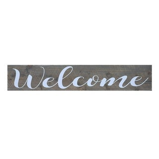 The Gray Barn Grey Welcome Sign