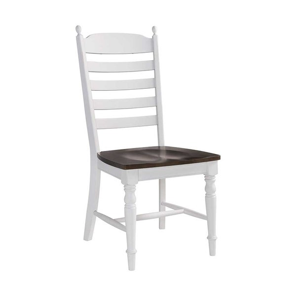 The Gray Barn Gables Farmhouse Antique White Side Chairs (Set of 2)