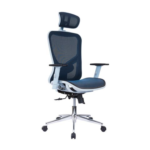 Handmade Modern Designs High-Back Lumbar Support Mesh Office Chair