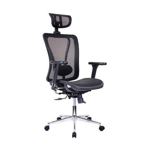 Handmade Modern Designs High-Back Lumbar Support Mesh Office Chair