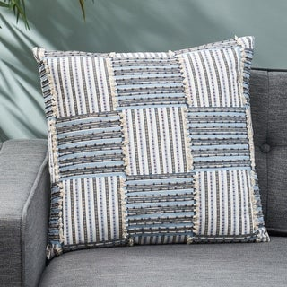 Perrotta Cotton Pillow Cover by Christopher Knight Home