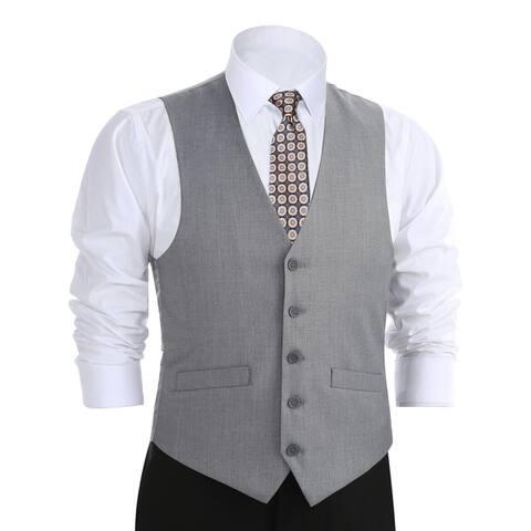Zenbriele Men's Regular Fit Suit Separate Vest Dress Vest Waistcoat