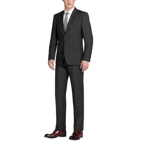 Men's Suit Two Button 2 Piece Modern Classic Fit