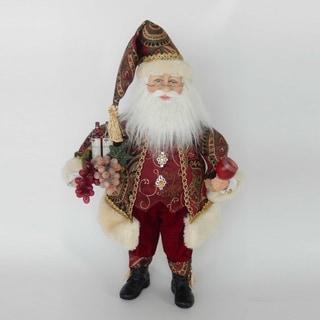 Kurt Adler 18-Inch Kringle Klaus Wine Santa