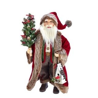 Kurt Adler 18-Inch Kringle Klaus Red and Green Santa