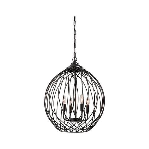 Maalik Contemporary Metal Pendant Lamp