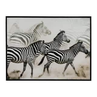Breeda Wall Art - Framed - Zebras