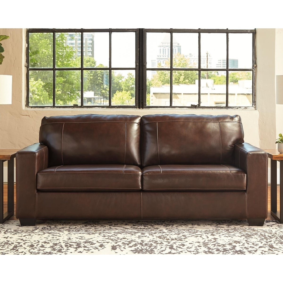 Astounding Buy Leather Sofas Couches Online At Overstock Our Best Onthecornerstone Fun Painted Chair Ideas Images Onthecornerstoneorg