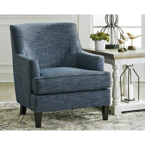 Tenino Indigo Blue Accent Chair