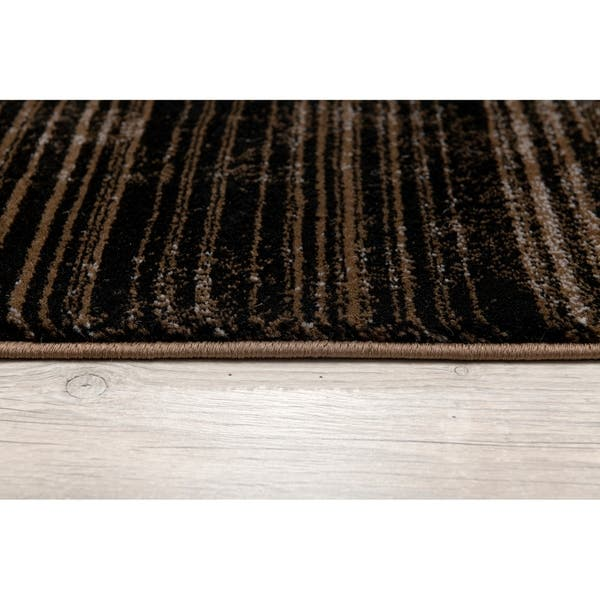 Rug Branch Montage Modern Abstract Area Rug And Runner Beige Brown Overstock 29769177