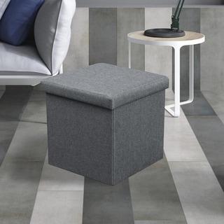 LOKATSE HOME Indoor Accent Upholstery Ottoman Bench