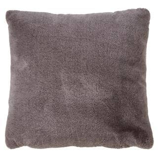 Faux Fur Design Throw Pillow