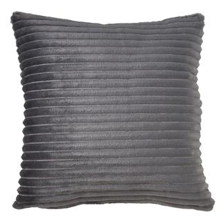 Faux Rabbit Fur Poly Filled Throw Pillow