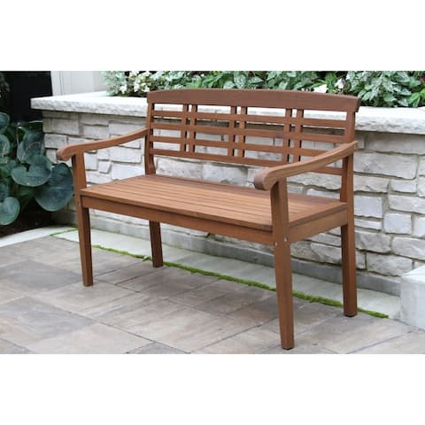 Eilaf Eucalyptus Parkway Bench by Havenside Home