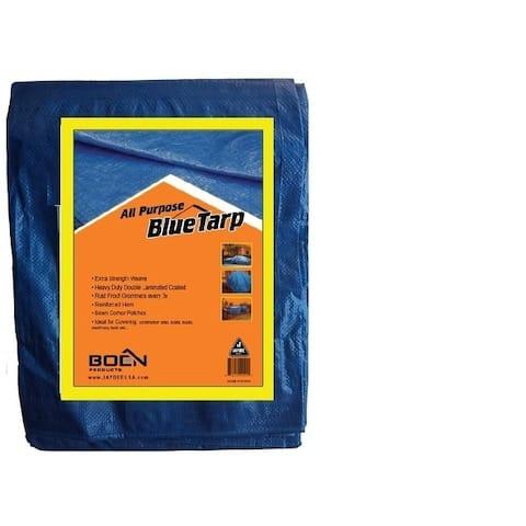 Boen Blue Tarps 8' x 10' 2Pk