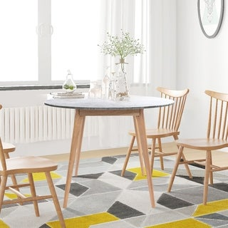 Link to Carson Carrington Tandsjoberg 31-inch Round Marble Dining Table Similar Items in Dining Room & Bar Furniture