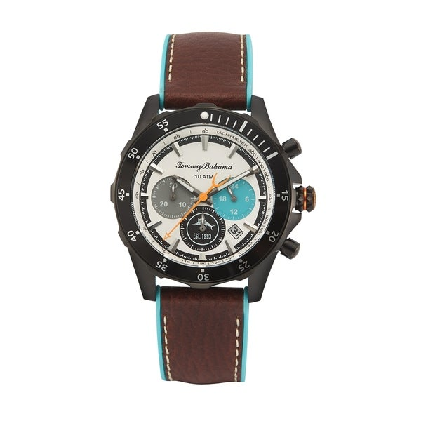 TOMMY BAHAMA Atlantis Diver Chronograph Watch. Opens flyout.