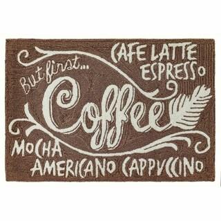 """Liora Manne Frontporch Coffee Indoor/Outdoor Rug Espresso 24""""X36"""""""