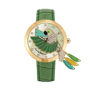 TOMMY BAHAMA Love Parrot Tail Feather Watch