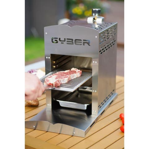 Anvil-Pro Gas Infrared Grill Propane Single Outdoor Grilling Fast, Efficient Heating Element