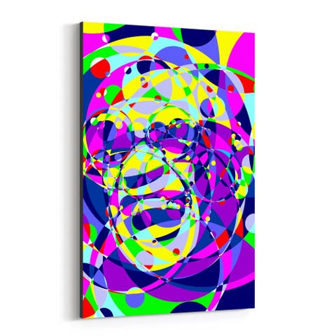 Noir Gallery Ray Charles Abstract Illustration Canvas Wall Art Print