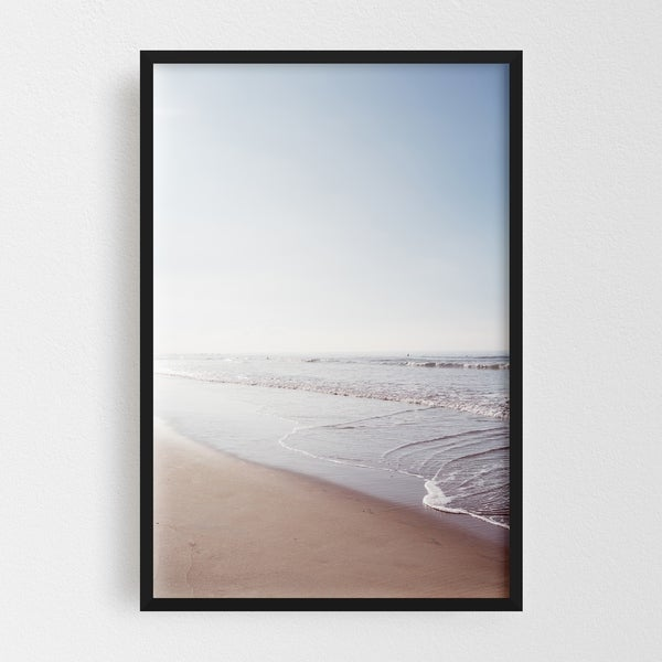 Noir Gallery San Diego California Sports Surfing Framed Art Print