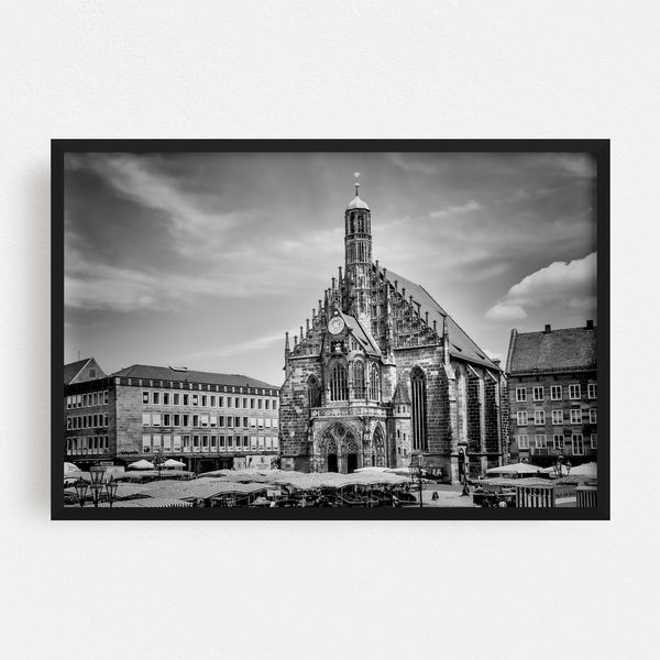 Noir Gallery Nuremberg Germany Urban Photo Framed Art Print