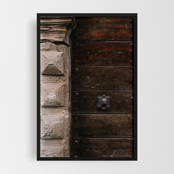 Noir Gallery Positano Italy Doors Urban Photo Framed Art Print