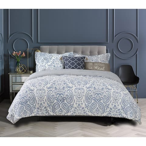 The Curated Nomad Wetmore 5-piece Cotton Comforter Set