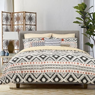Link to The Curated Nomad Wentworth 8-piece Geometric Comforter Set Similar Items in Comforter Sets