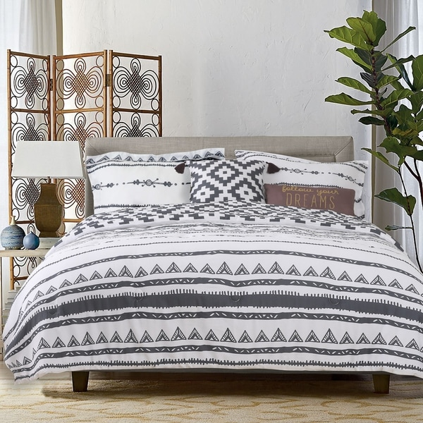 The Curated Nomad Coronado 5-piece Cotton Comforter Set. Opens flyout.
