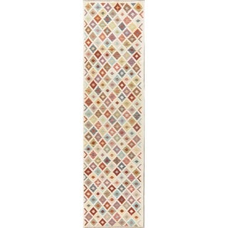 "Flat-Woven Hallway 10 ft Turkish Kilim Runner Rug Oriental Wool Carpet - 9'9"" X 2'7"" Runner"