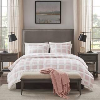 Madison Park Mills Reversible Plush Comforter Set