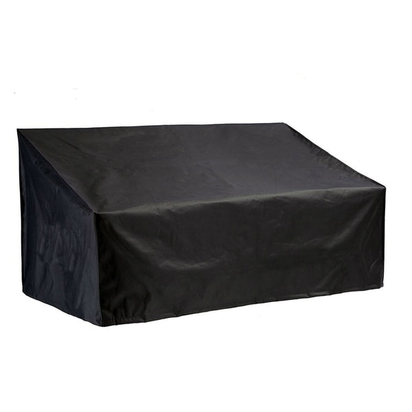 Outdoor Waterproof 3-seat Sofa Rain Cover by Moda Furnishings - 88.2x 32.7x 33.1-23.6 inches. Opens flyout.